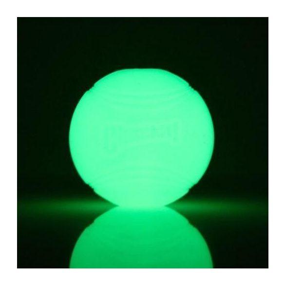 Chuckit Max Glow Ball , M , VILÁGÍTÓS