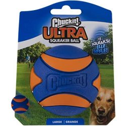 Chuckit Ultra Squeaker Ball , L , CSIPOGÓS
