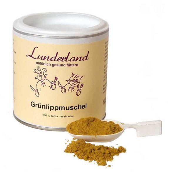 Zöldkagylópor , Lunderland