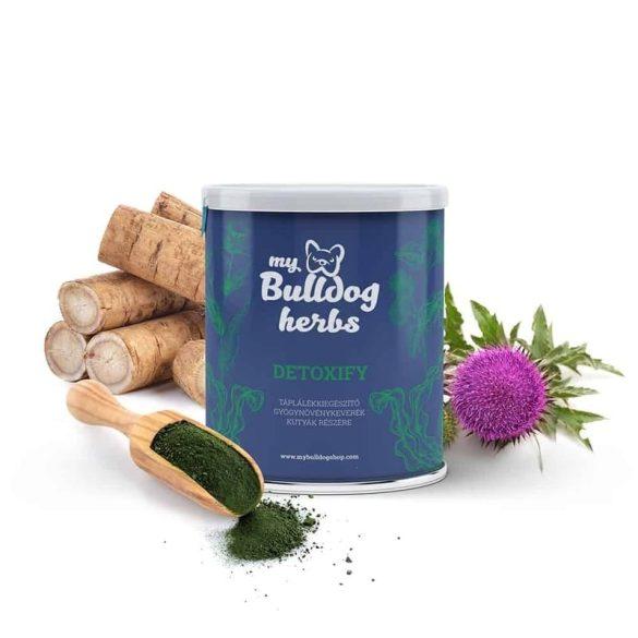 My Bulldog Herbs – DETOXIFY – méregtelenítés