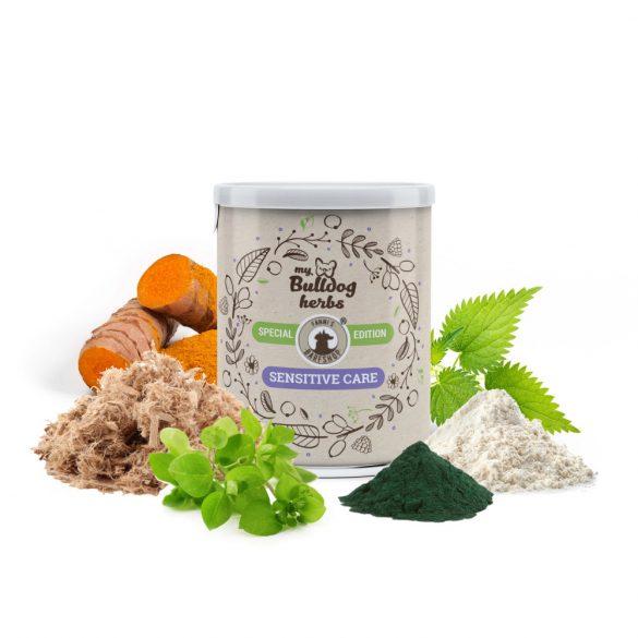 My Bulldog Herbs – SENSITIVE CARE – Érzékeny pocakra - Emésztést támogató probiotikummal