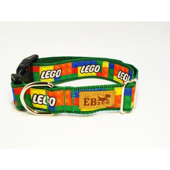 LEGO mintás nyakörv