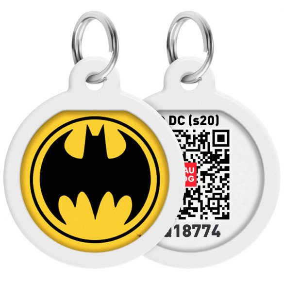 ID Smart biléta nyakörvre - Batman