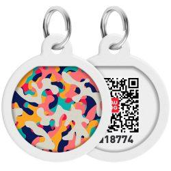 ID Smart biléta nyakörvre - Multicolor