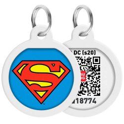 ID Smart biléta nyakörvre - Superman
