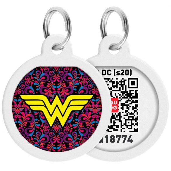 ID Smart biléta nyakörvre - Wonderwoman