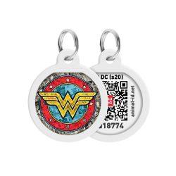 ID Smart biléta nyakörvre - Wonderwoman_2
